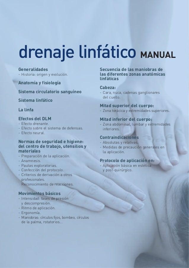 Drenaje linfatico manual cuerpo completo de las cabezas