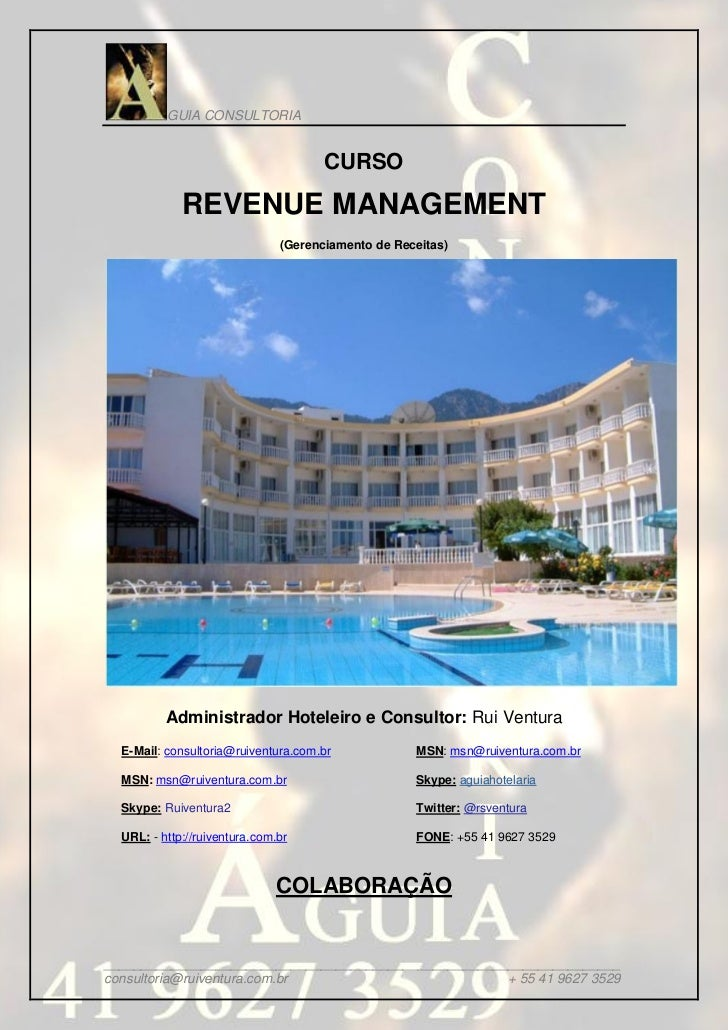 GUIA CONSULTORIA                                      CURSO             REVENUE MANAGEMENT                               (...