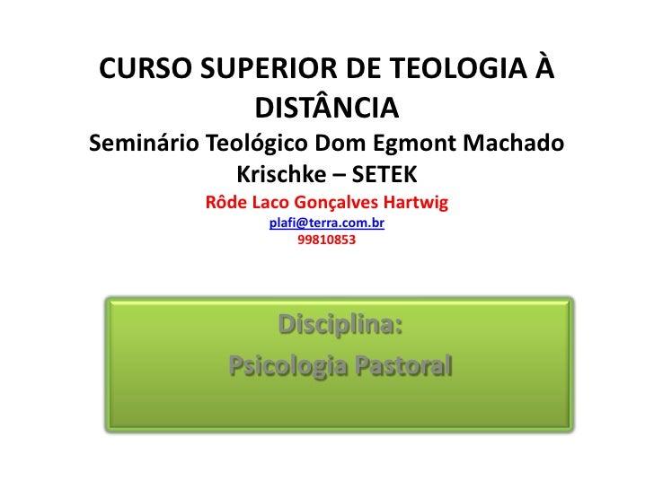 Curso superior de teologia distancia for Curso de interiorismo a distancia