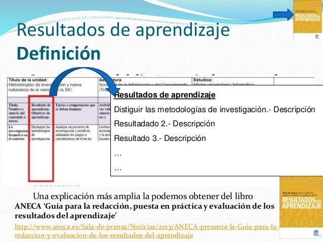 Evaluación En cualquier caso se ha de hacer constar:  Las tareas cuya ejecución manifiesta la evidencia de haber consegui...