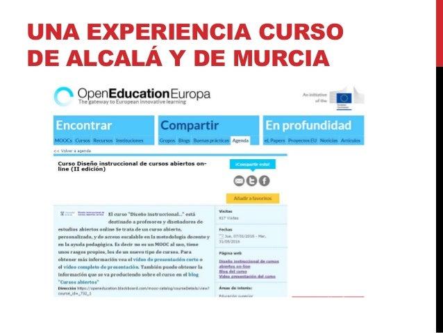 "CURSO ABIERTO ONLINE ""DISEÑO INSTRUCCIONAL"" https://openeducation.blackboard.com/mooc- catalog/courseDetails/view?course_i..."