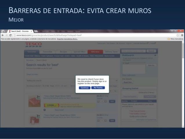 BARRERAS DE ENTRADA: EVITA CREAR MUROS MEJOR