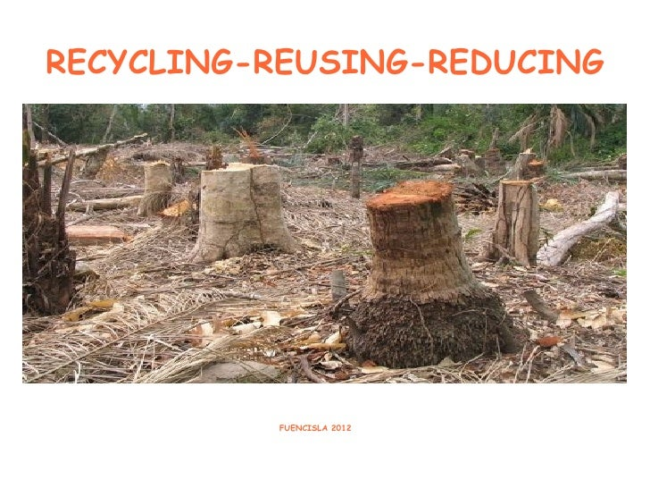 RECYCLING-REUSING-REDUCING          FUENCISLA 2012