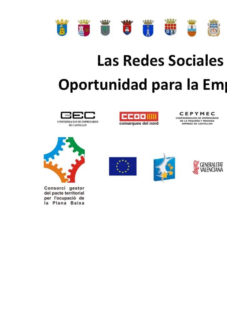 Las Redes Sociales. Oportunidad para la empresa