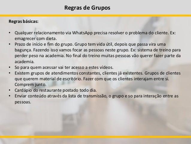 Conhecido Curso atendimento por Whatsapp QT12