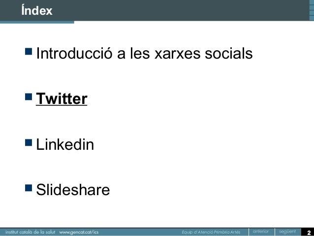 Curs TiC i xarxes socials Slide 2