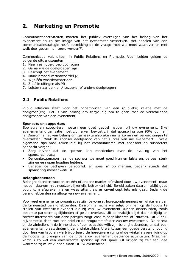 promotie brief opstellen Promotie Brief Opstellen | gantinova