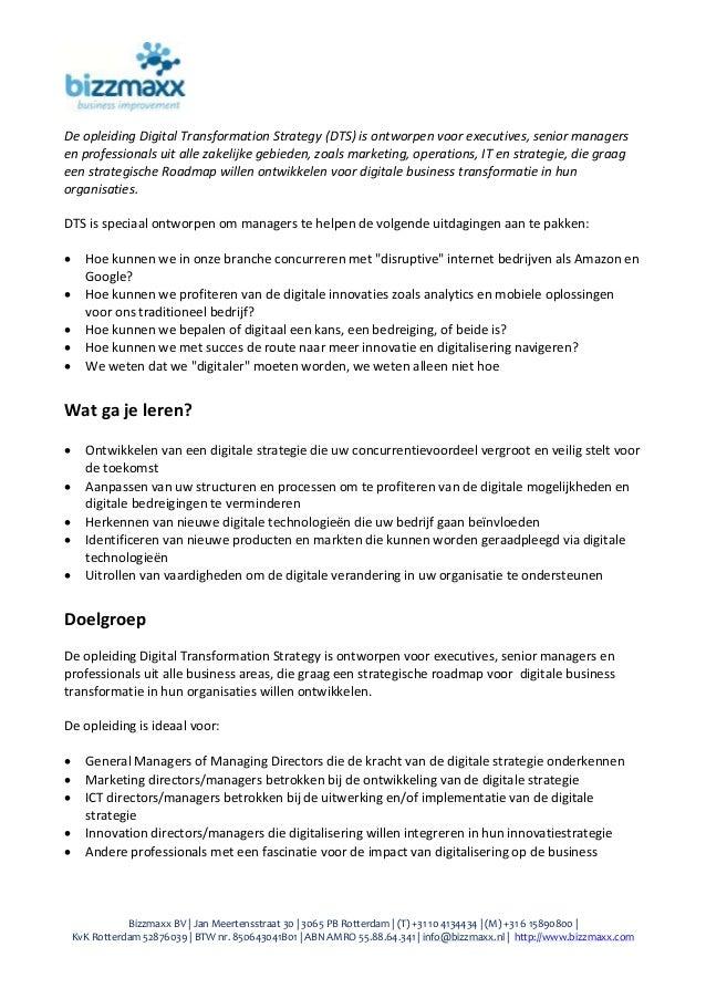 Bizzmaxx BV | Jan Meertensstraat 30 | 3065 PB Rotterdam | (T) +31 10 4134434 | (M) +31 6 15890800 | KvK Rotterdam 52876039...