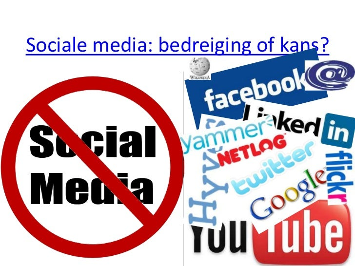 Sociale media: bedreiging of kans?