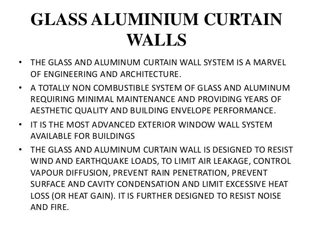 COMPONENTS OF A C.W. VERTICAL ELEMENTS: MULLIONS HORIZONTAL ELEMENTS: RAILS (SOMETIMES MULLIONS) - TYPICALLY FRAME SHORT D...
