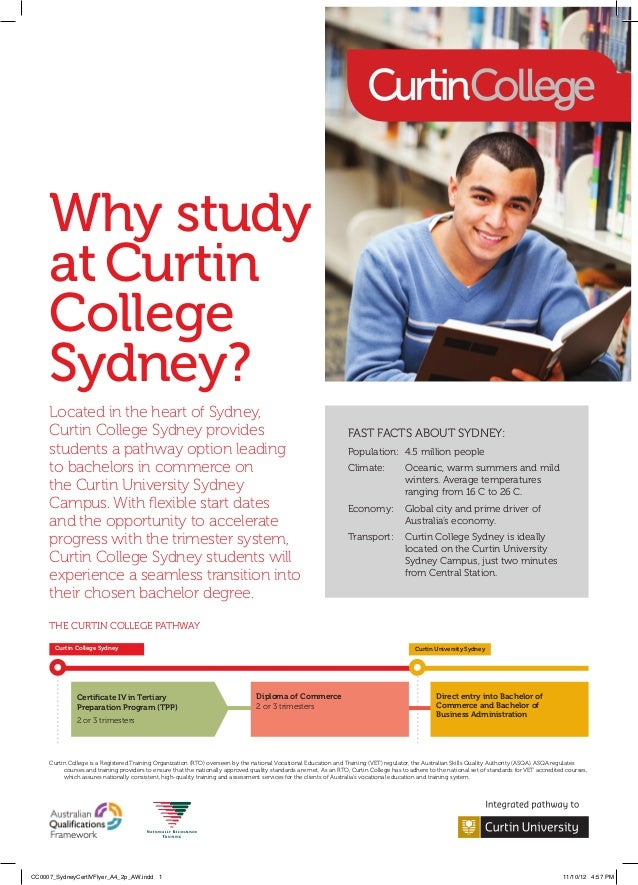 Why study     at Curtin     College     Sydney?     Located in the heart of Sydney,     CurtinCollege Sydney provides    ...