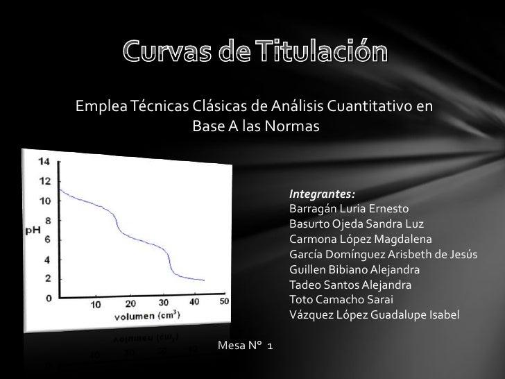 Emplea Técnicas Clásicas de Análisis Cuantitativo en                Base A las Normas                                Integ...