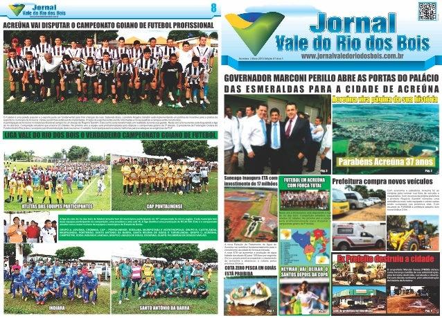 Jornal Vale do Rio dos Bois