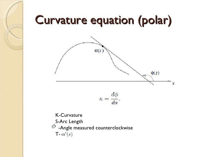 radius of curvature how to find