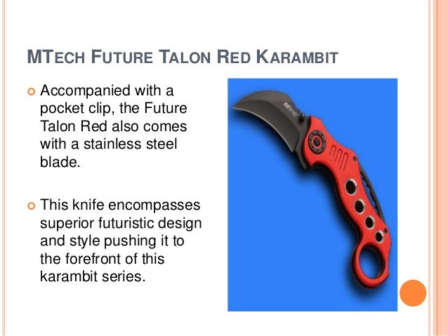 Curved Blade Karambit Knife
