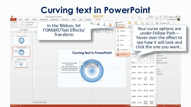 Getting the Type Right: Tips for Working with Text in PowerPoint 2007