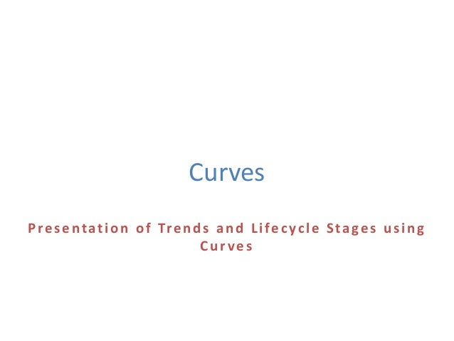 Curves Presentation of Trends and Lifecycle Stages using Curves