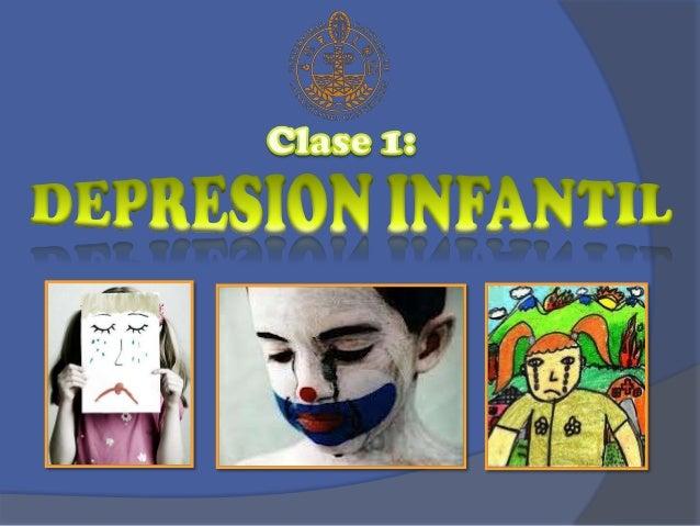Alteración patológica del estado del ánimo en niños menores de 6 años. Con características como:  Descenso del humor y tri...