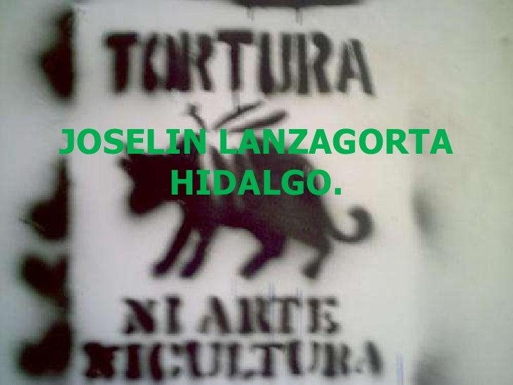 JOSELIN LANZAGORTA HIDALGO.<br />