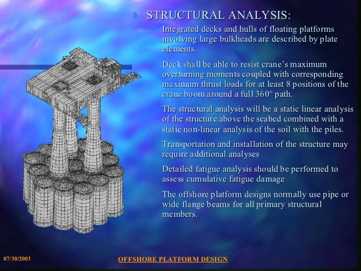 offshore structures presentation rh slideshare net VLF Rocket VLFs Inside
