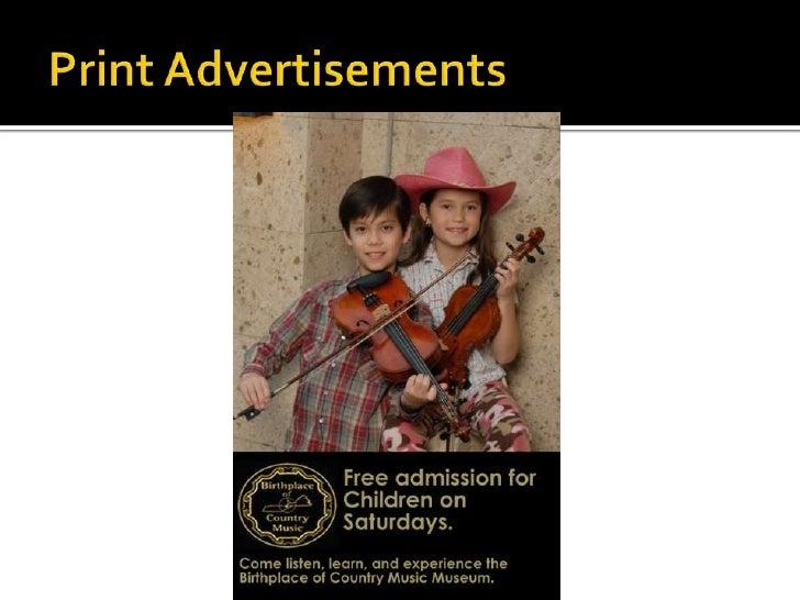 Print Advertisements<br />