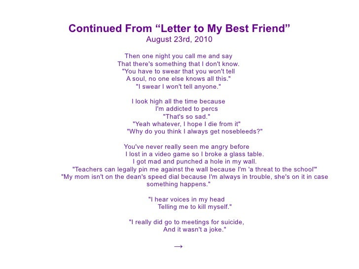 best friend letter 30 letters 30 days 2610