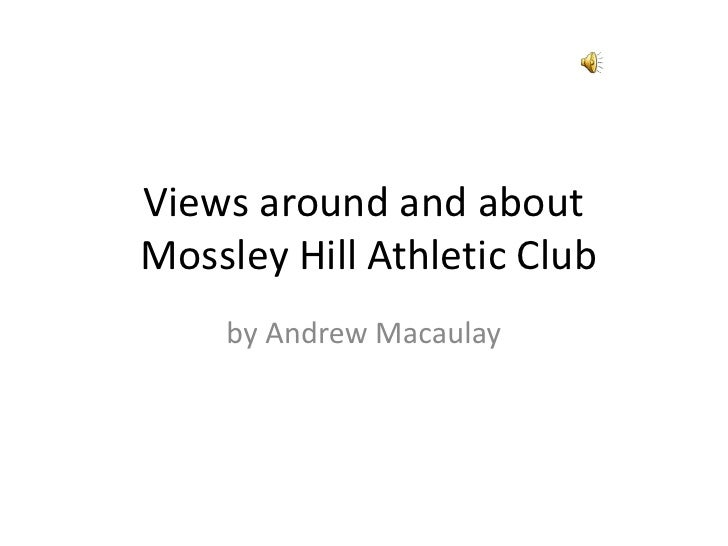 Views around and about Mossley Hill Athletic Club     by Andrew Macaulay