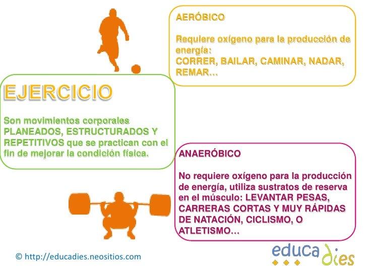 EJERCICIO Y ACTIVIDAD FÍSICA Slide 3