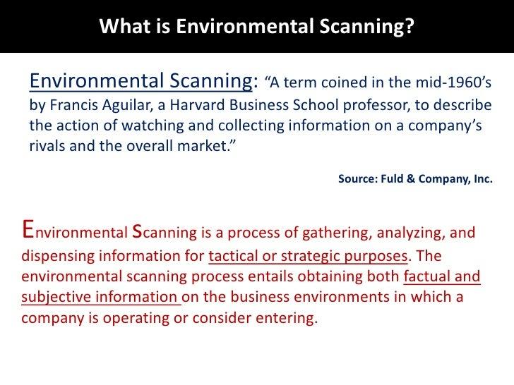 Environmental Scanning:complete concept. Slide 2