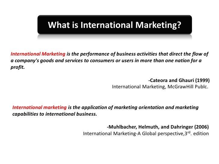 international marketing ghauri cateora 3rd edition pdf
