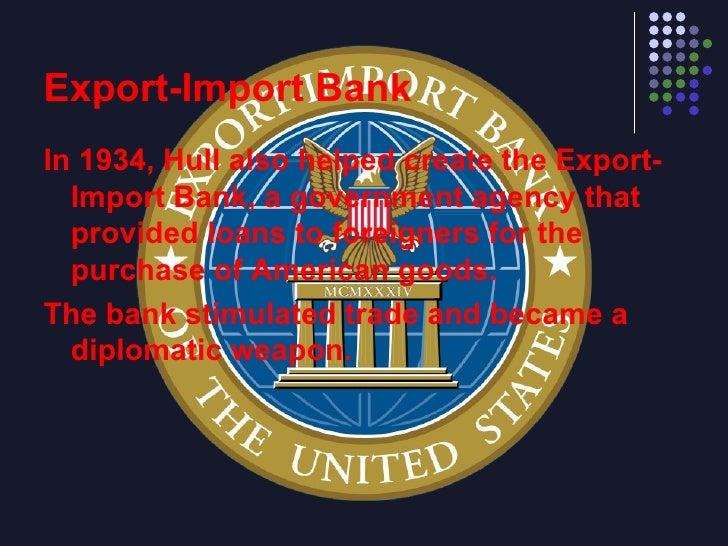 Reciprocal Trade Agreement Act Breakthrough Diplomacy