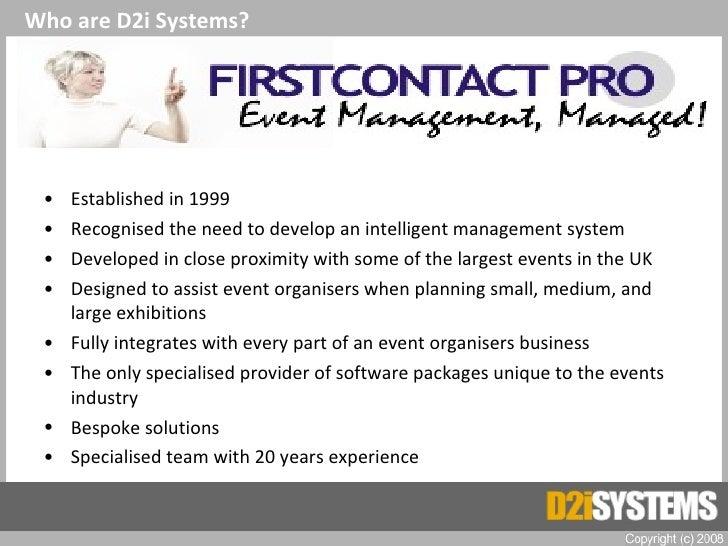 <ul><li>Established in 1999 </li></ul><ul><li>Recognised the need to develop an intelligent management system </li></ul><u...