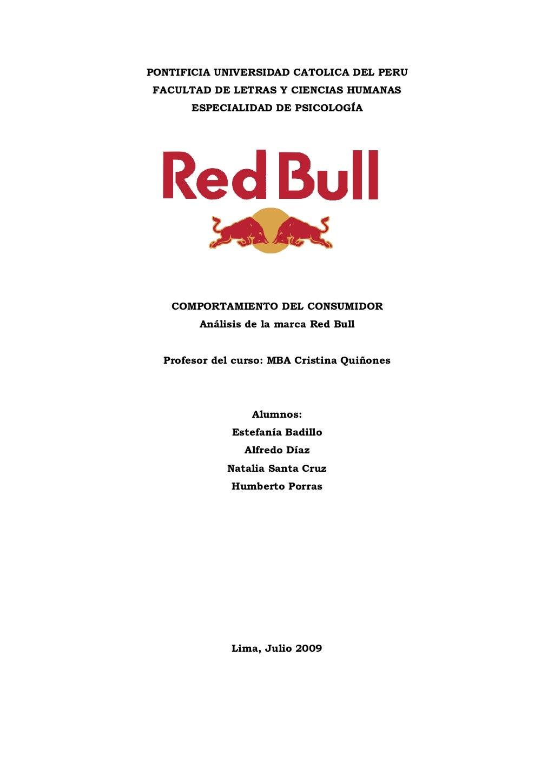 Psicología del Consumo: el Caso Red Bull