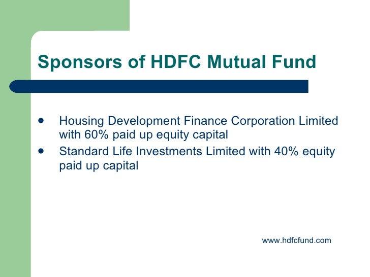Hdfc Housing Development Finance Corporation Limited ...