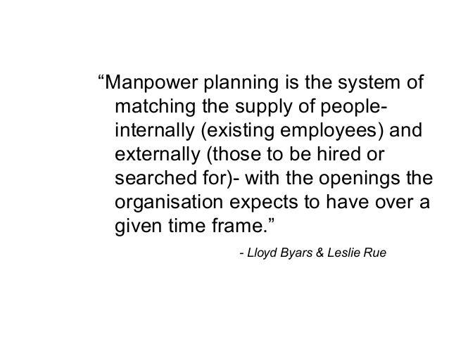 manpower planning in nigeria