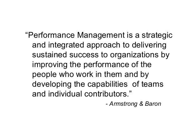 Strategic Performance Management Slide 3