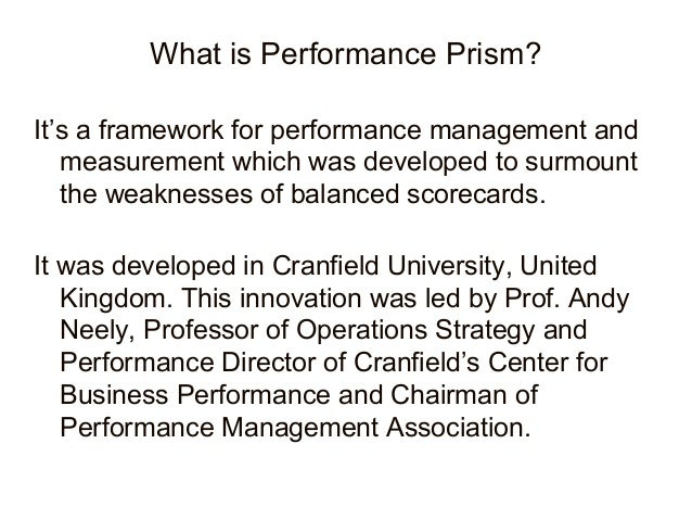 strategic performance management The first of two newsletters on aligning strategic planning with performance management this month's focus is on the big picture, while next month targets accountability.