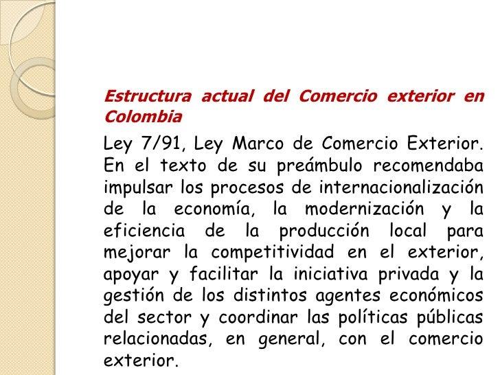 Instituciones de comercio exterior for Comercio exterior que es