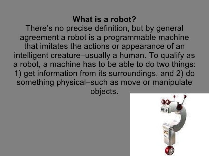 Robot PowerPoint Slide 2