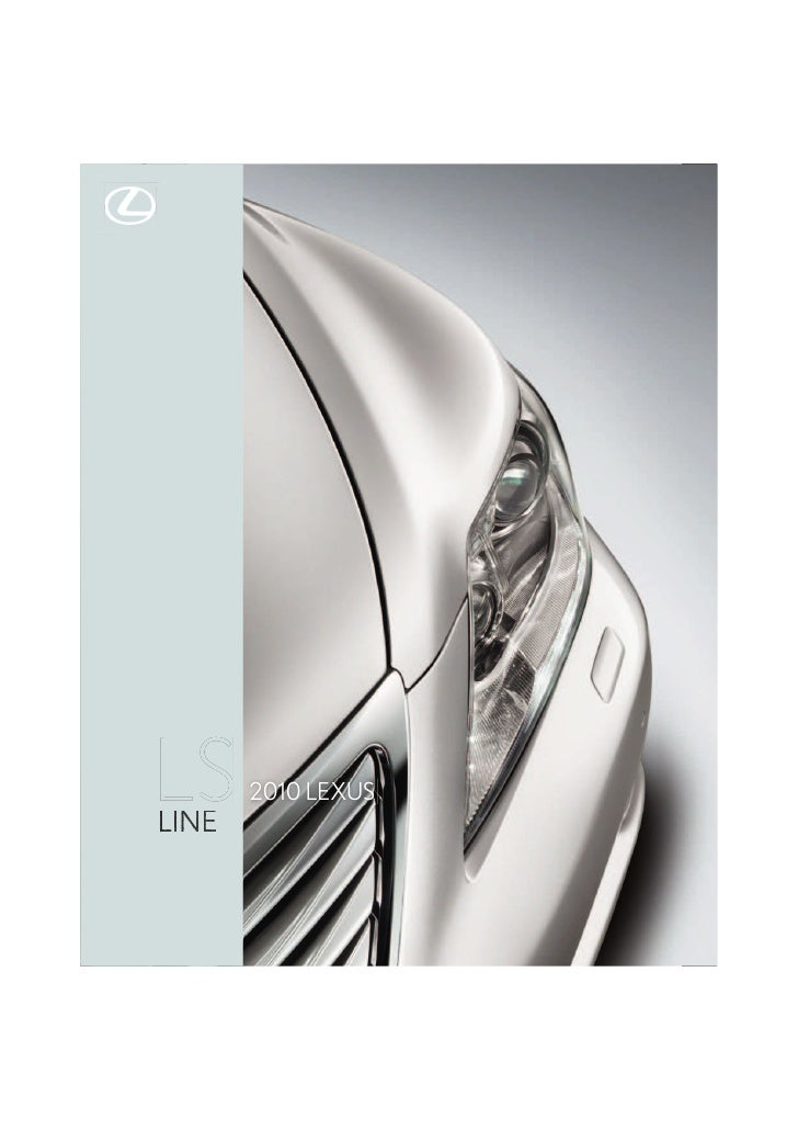 LUXURY   PERFORMANCE   HYBRID   INNOVATION                  SPECS                                                  2010 LE...