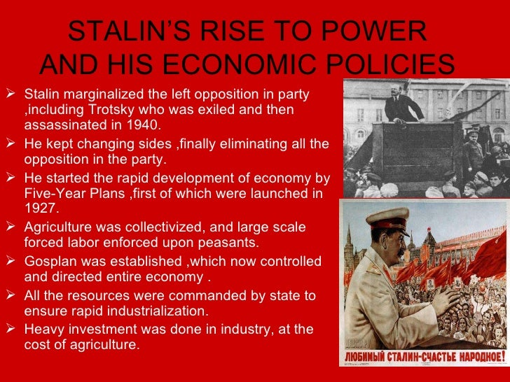 stalin economic policy terror in ussr The great terror these extracts are  how successful was stalin's economic policy  how did stalin's foreign policy move the ussr from pariah to saviour.