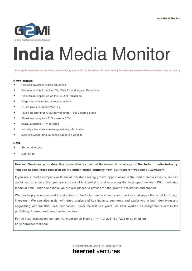 India Media Monitor     India Media Monitor                                                                               ...
