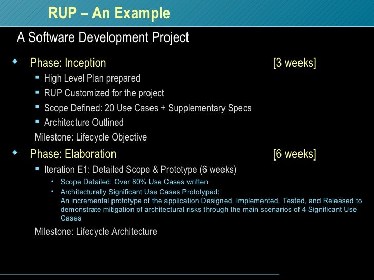 rup 1 project
