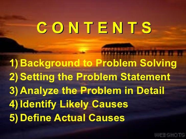 Problem Solving and Decision Making Slide 2