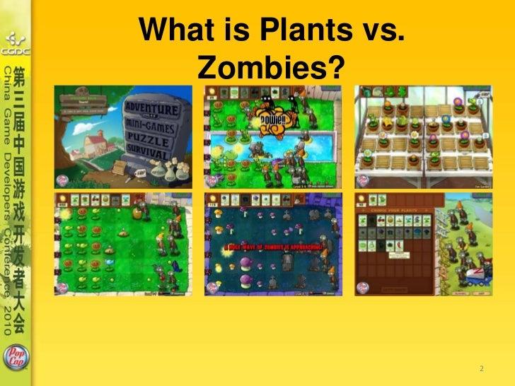 The Making of PopCap's Plants vs Zombies Slide 2