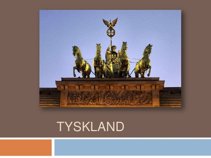 TYSKLAND<br />