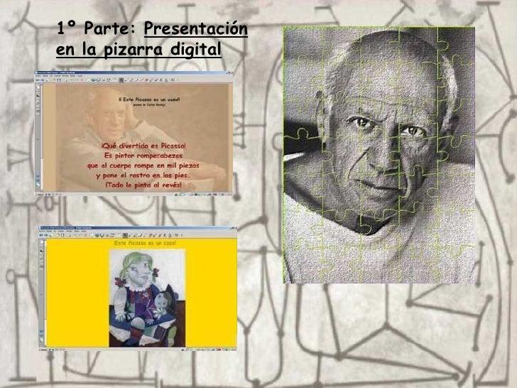1º Parte:  Presentación en la pizarra digital