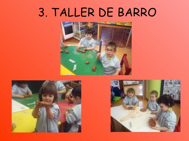 3. TALLER DE BARRO