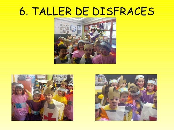 6. TALLER DE DISFRACES