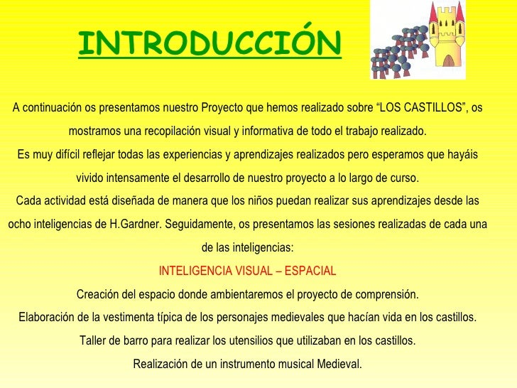 """A continuación os presentamos nuestro Proyecto que hemos realizado sobre """"LOS CASTILLOS"""", os mostramos una recopilación vi..."""